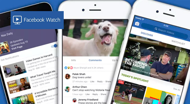 Llegó Facebook Watch a Argentina
